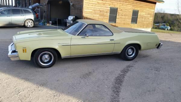 1973 chevrolet el camino for sale in calabasas ca for Rainbow motors el paso tx