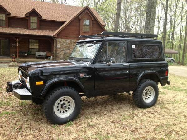 1977 ford bronco for sale in calabasas ca. Black Bedroom Furniture Sets. Home Design Ideas