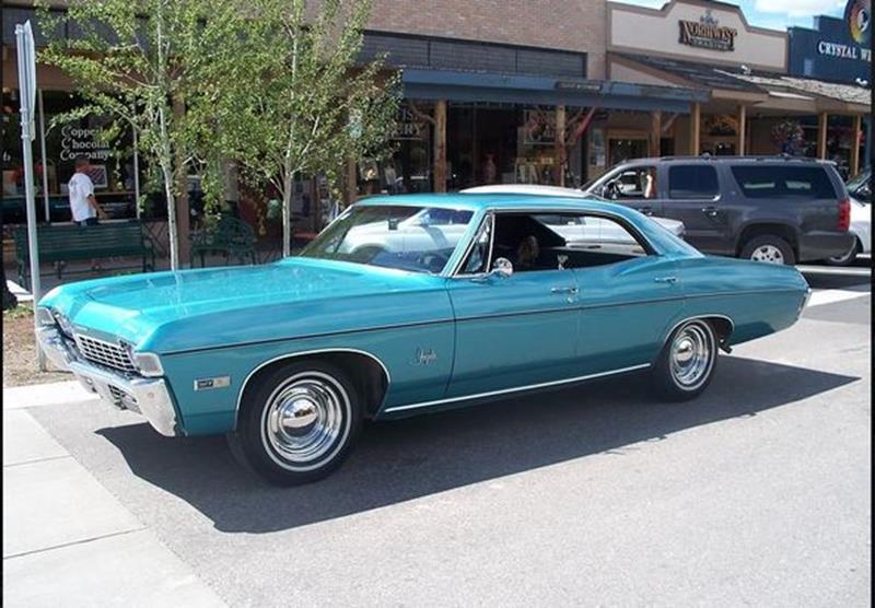 1968 Chevrolet Impala For Sale Carsforsale Com