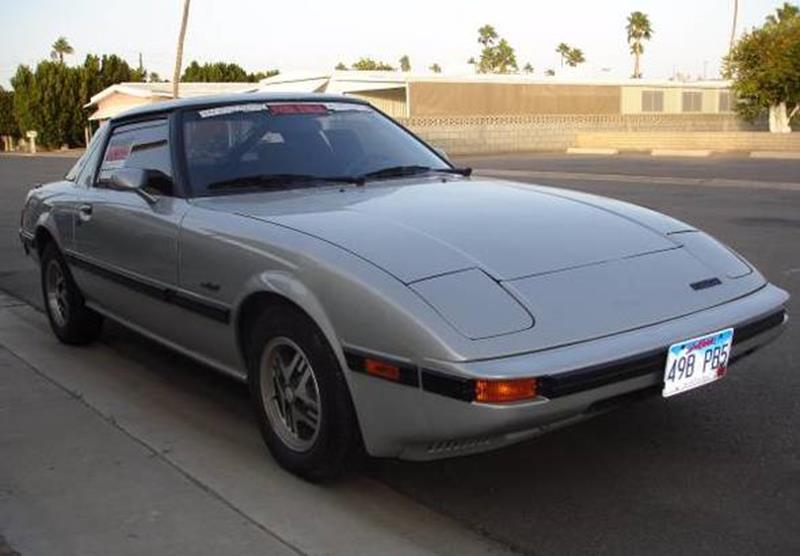 mazda rx7 1985. 1985 mazda rx7 for sale in calabasas ca rx7