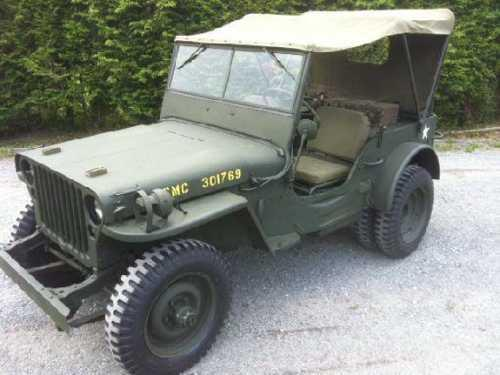1945 Willys MZ2 for sale in Calabasas CA