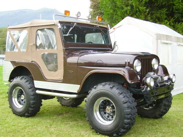 1956 Willys CJ5 for sale in Calabasas CA