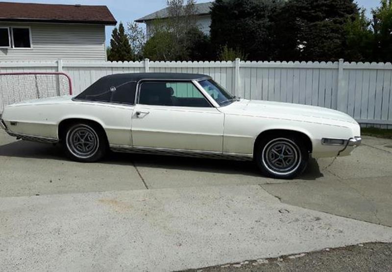 Used Car Lots Edmonton: 1969 Ford Thunderbird For Sale