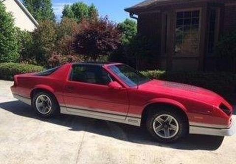 1986 Chevrolet Camaro for sale in Calabasas, CA