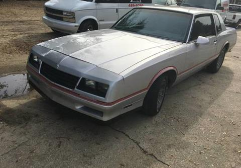 1985 Chevrolet Monte Carlo for sale in Calabasas, CA