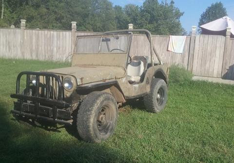1947 Willys CJ-2A for sale in Calabasas, CA