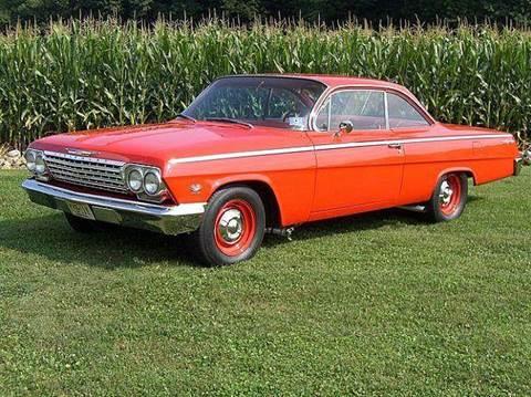1962 Chevrolet Bel Air For Sale Carsforsale