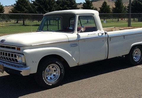 1965 Ford Truck >> 1965 Ford F 100 For Sale Carsforsale Com