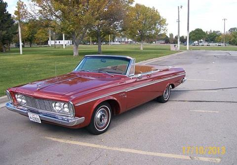 1963 Plymouth Sport Fury For Sale In Calabasas CA