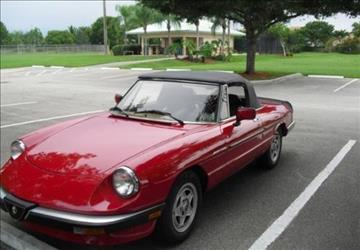 1984 Alfa Romeo Spider for sale in Calabasas, CA