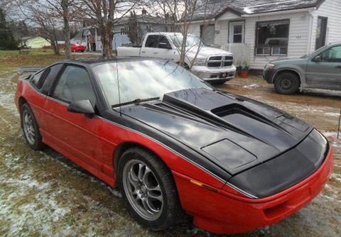 Pontiac Fiero For Sale In Greenville Sc Carsforsale Com