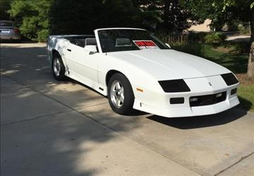 1991 chevrolet camaro for sale for Don robinson motors st cloud minnesota