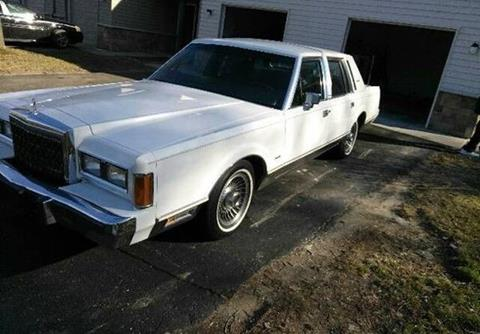 1989 Lincoln Town Car For Sale Carsforsale Com
