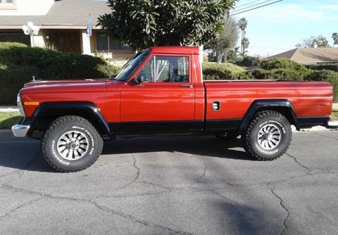 1984 Jeep J 10 Pickup For Sale In Calabasas, CA
