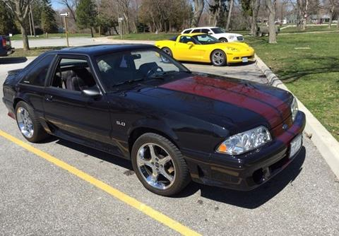 1992 Ford Mustang For Sale Carsforsale