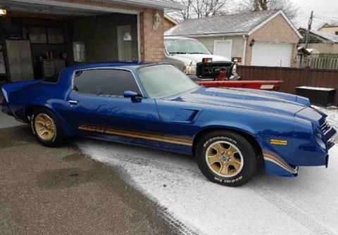 Used 1981 Chevrolet Camaro For Sale Carsforsale Com