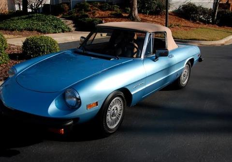 Alfa Romeo Spider For Sale Carsforsalecom - 1993 alfa romeo spider for sale