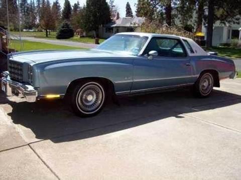 1977 Chevrolet Monte Carlo For Sale Carsforsale Com