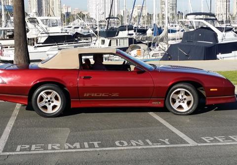 1989 Chevrolet Camaro for sale in Calabasas, CA