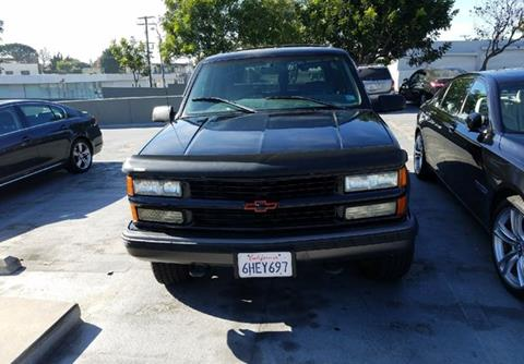 Chevy Tahoe For Sale Near Me >> 1998 Chevrolet Tahoe For Sale In Calabasas Ca