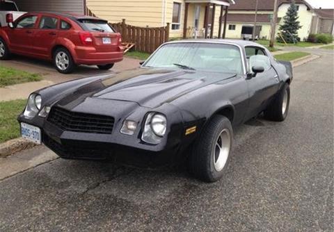 1979 Chevrolet Camaro For Sale  Carsforsalecom