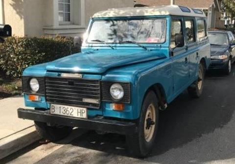 Used Land Rovers For Sale >> 1986 Land Rover Defender For Sale In Calabasas Ca