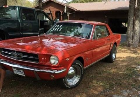 65 Mustang For Sale >> 1965 Ford Mustang For Sale In California Carsforsale Com
