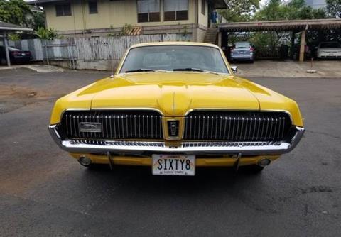 1968 Mercury Cougar For Sale In Stockton Ca Carsforsale Com