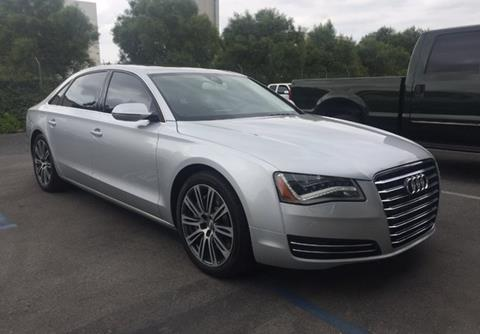 2013 Audi A8 L for sale in Calabasas, CA