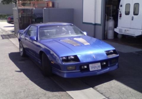 1986 Chevrolet Camaro For Sale  Carsforsalecom