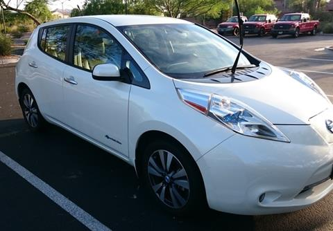 2013 Nissan LEAF for sale in Calabasas, CA
