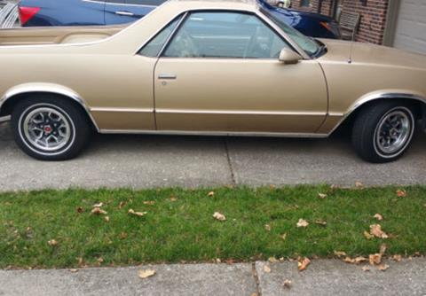 1986 Chevrolet El Camino For Sale  Carsforsalecom