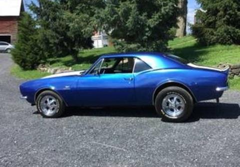 1967 Chevrolet Camaro For Sale Carsforsale