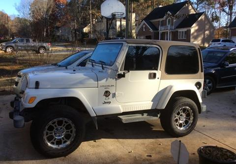 2001 Jeep Wrangler for sale in Calabasas, CA