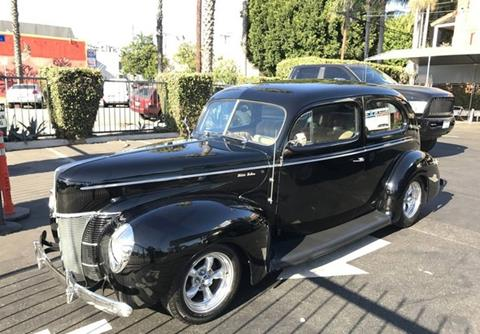 1940 Ford Deluxe for sale in Calabasas, CA