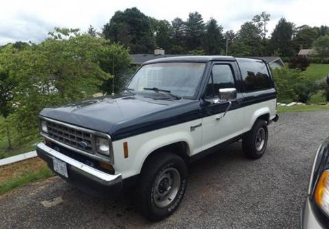 Ford Bronco 2 >> 1987 Ford Bronco Ii For Sale In Calabasas Ca