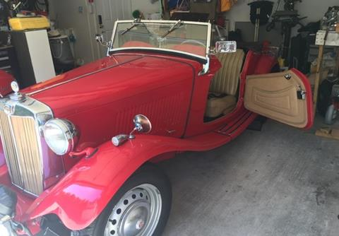 1951 MG TD for sale in Calabasas, CA