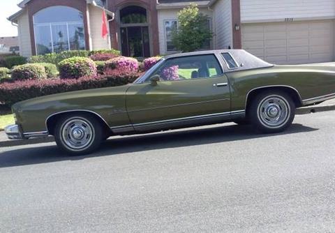 1973 Chevrolet Monte Carlo For Sale Carsforsale Com