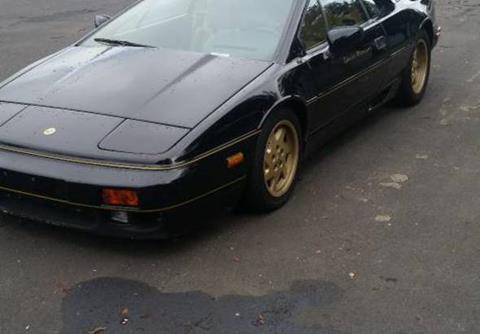 Used Lotus Esprit For Sale >> Lotus Esprit For Sale Carsforsale Com