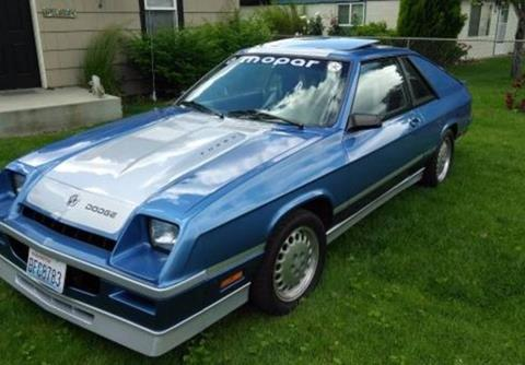 1986 Dodge Charger For Sale - Carsforsale.com®