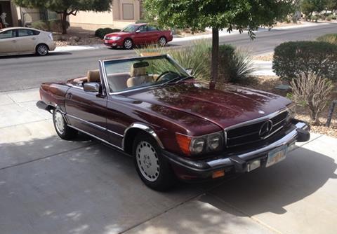 1988 Mercedes-Benz 560-Class for sale in Calabasas, CA
