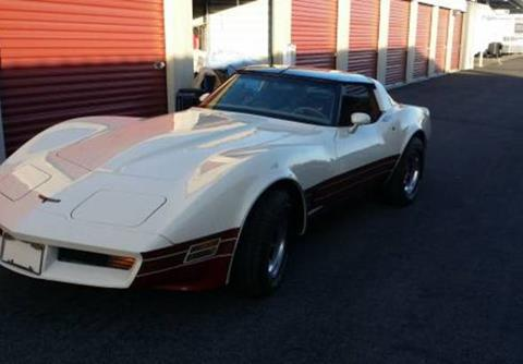 used 1981 chevrolet corvette for sale in california. Black Bedroom Furniture Sets. Home Design Ideas