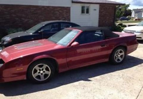 Used 1989 Chevrolet Camaro For Sale Carsforsale Com