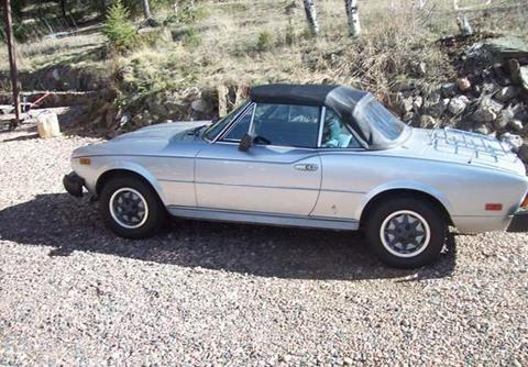 used 1980 fiat 124 spider for sale. Black Bedroom Furniture Sets. Home Design Ideas