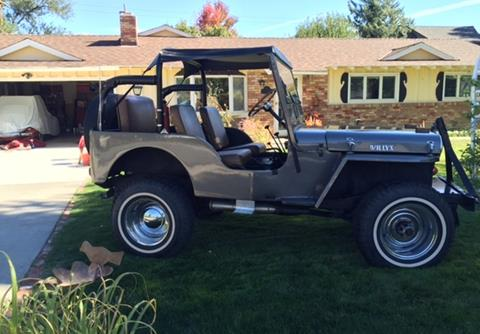 1950 Willys CJ-3A for sale in Calabasas, CA