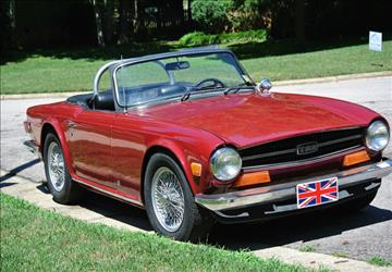1973 Triumph TR6 for sale in Calabasas, CA