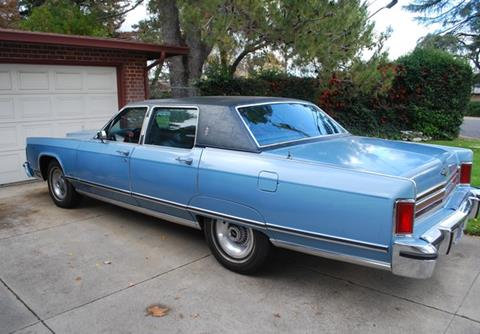 1977 Lincoln Town Car For Sale Carsforsale Com
