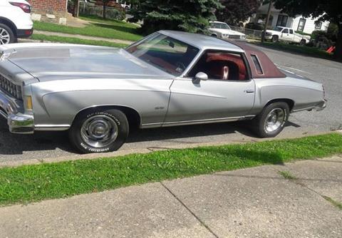 1975 Chevrolet Monte Carlo For Sale Carsforsale Com