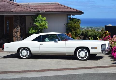 1976 cadillac eldorado for sale for Hollywood motors west babylon