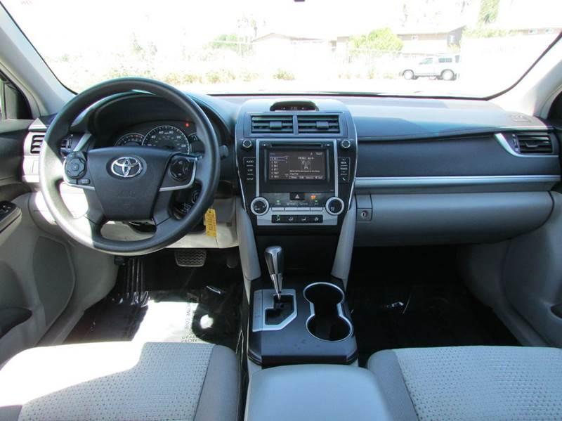 2014 Toyota Camry LE 4dr Sedan - Modesto CA